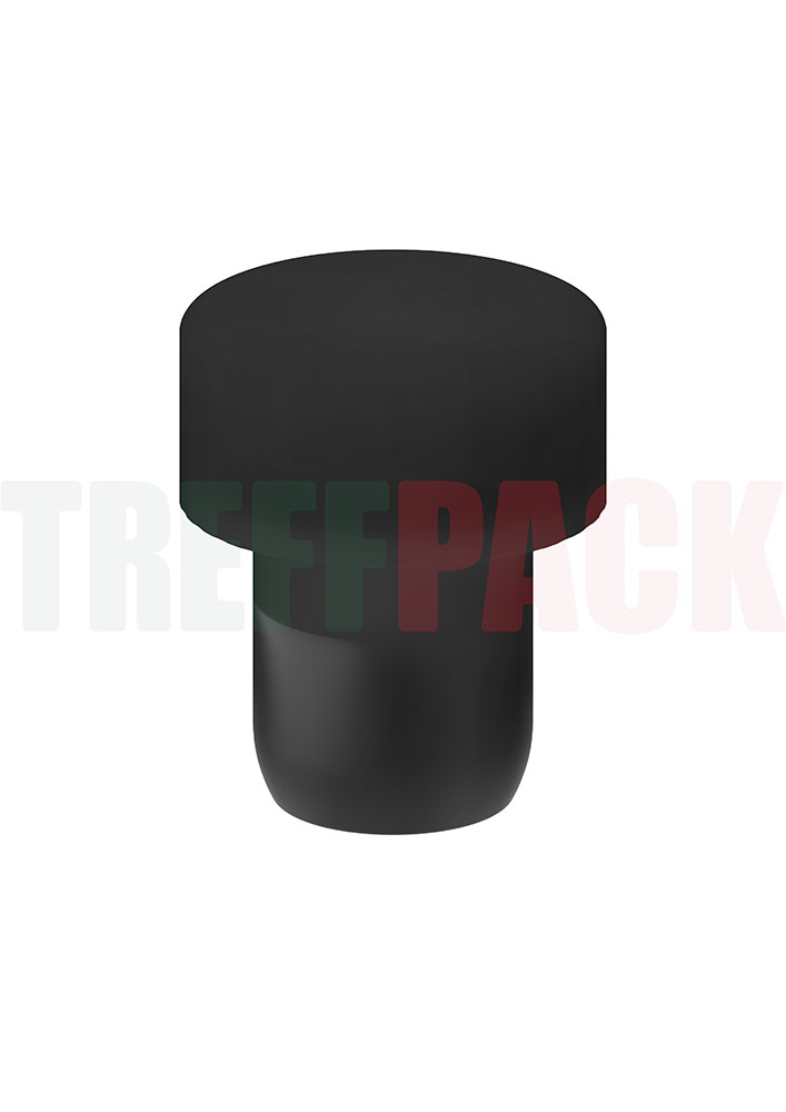 Stopper, PE, with Pourer, 29.5/19.5 mm